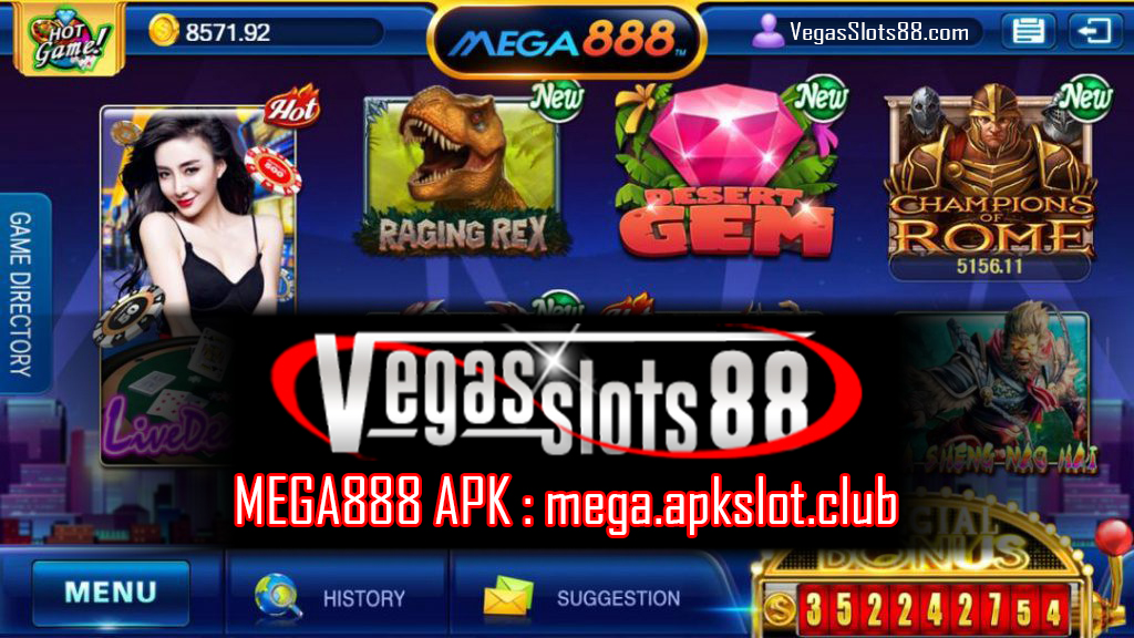 MEGA888 APK DOWNLOAD